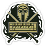 keyboard warrior Logo Icon PNG