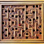 bahasa-inggris-labirin-labyrinth Logo Icon PNG
