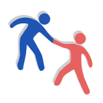 Bahasa Inggris dari bakti sosial Logo Icon PNG